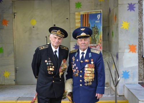 Ветераны в доме культуры «Планета»