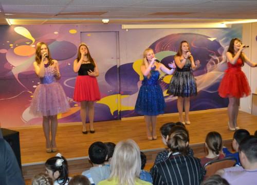 Отчетный концерт группы «Зернышко» февраль 2016